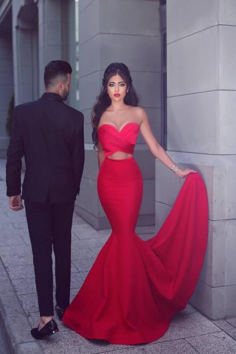 Prom Dress Sweetheart Prom Dress Mermaid/Trumpet Prom Dress Sexy Prom Dress