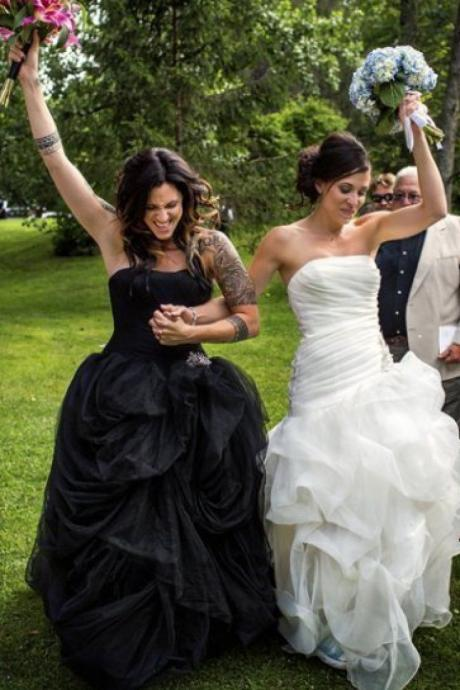 Woman Gay wedding Dress